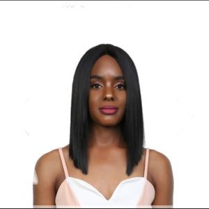MilkyWay Human Hair Blend Lace Front Wig